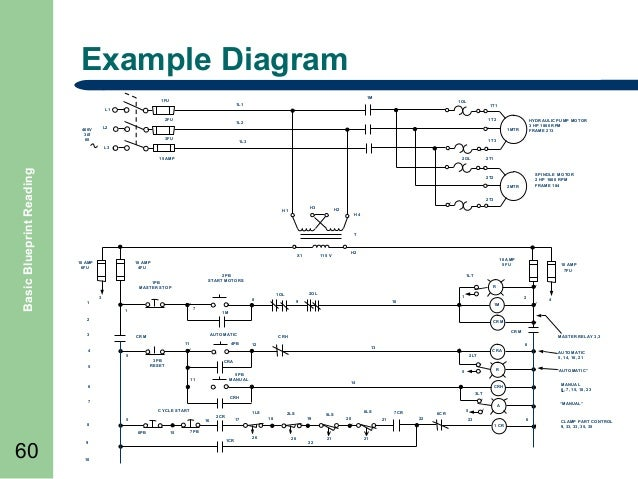 Basic Blueprint Reading on alternating relay schematic