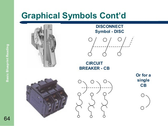 Air Circuit Breaker Electrical Symbol