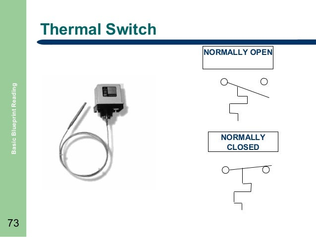 basic blueprint reading thermal