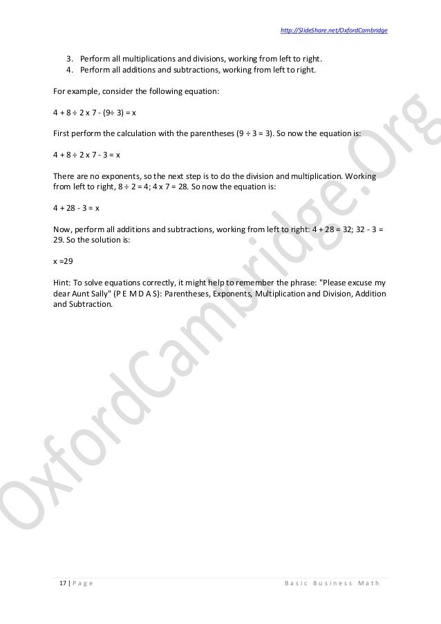 Basic business math study notes v02 business math 17 fandeluxe Gallery