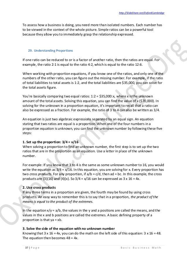 Basic business math study notes v02 business math 37 fandeluxe Gallery