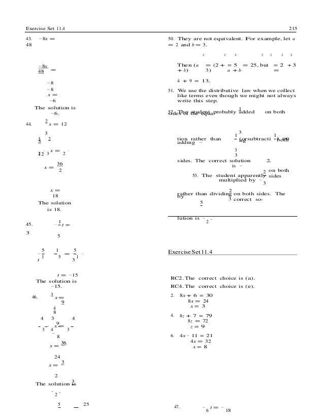 Basic College Mathematics 12th Edition Bittinger Test Bank