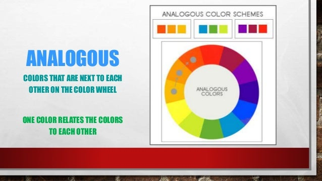 17 ARTISTS PLAN COLORS ANALOGOUS