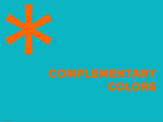 Complementary colors are located across from each other and offer strong visual contrasts. When mixed they produce grey.