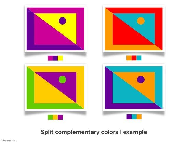 Section 1 The Quick Fox The Quick Fox Section 1 The Quick Fox The Quick Fox Section 1 Section 1 Split complementary colors...