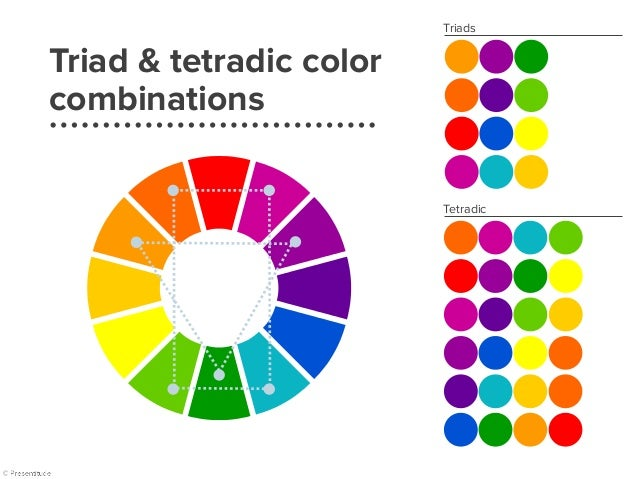 Triad colors | example