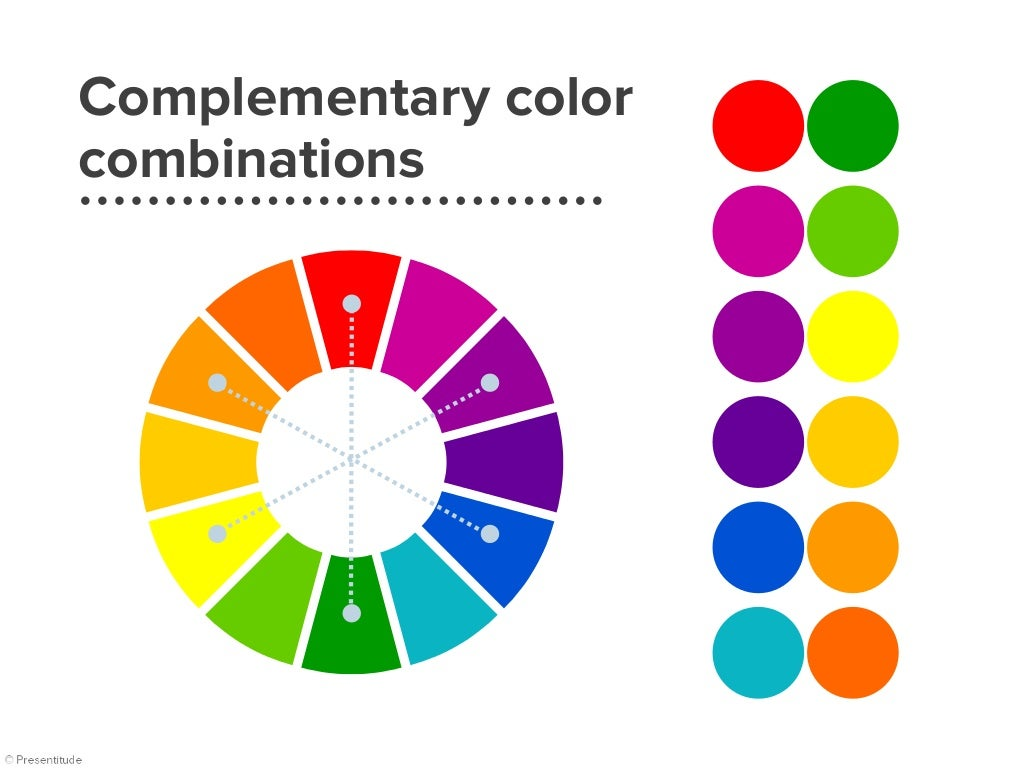 Complementary colors | examples