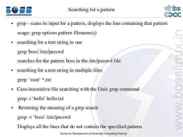 Basic Linux Commands Mesmerizing Grep Multiple Patterns
