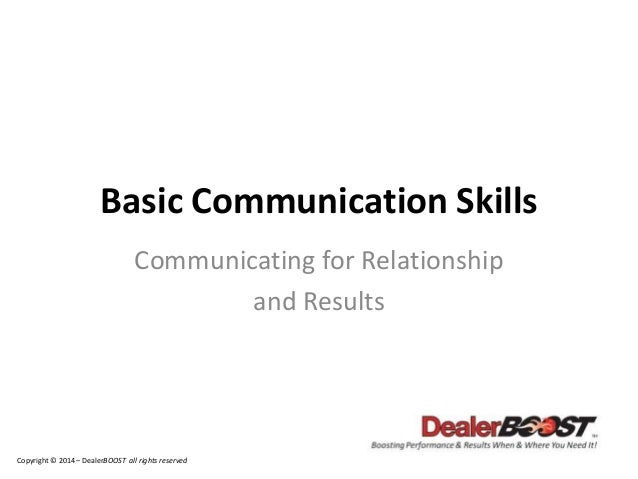 the basic fundamental skills of effective communication Effective communication in the workplace  tips for developing your communication skills  by mastering these five simple communication strategies you can ensure .
