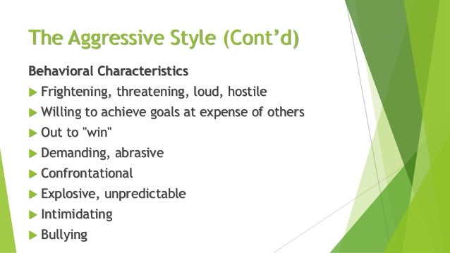 essay basic communication style The five communication styles assertive a good understanding of the five basic styles of communication will help you learn how to react most effectively when.