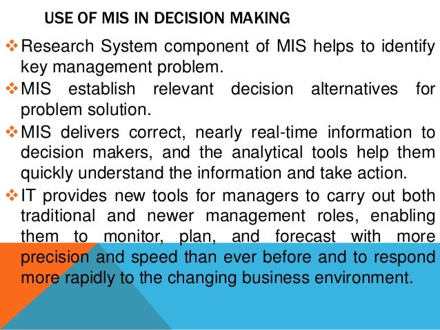 essential components of effective mis Various components of management information system november 01, 2011 by: rekhas points: 12 category: others earning $075 views: 5080 ere are five main and essential components of such an information system these five components are- hardware, software, people, data and procedures let us analyze each of the components in detail.