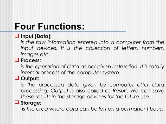 COMPUTER FUNDAMENTAL NOTES PDF