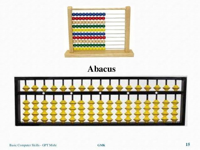 AbacusBasic Computer Skills - GPT Mirle     GMK    15