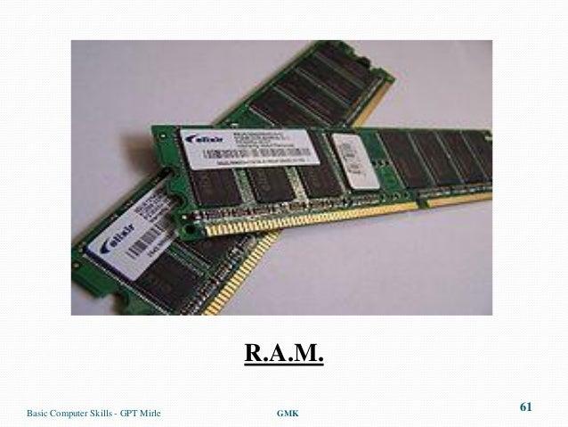 R.A.M.Basic Computer Skills - GPT Mirle     GMK                                             61