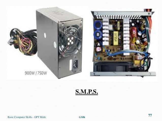 S.M.P.S.Basic Computer Skills - GPT Mirle    GMK                                               77