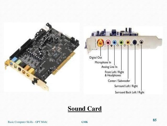 sound cardbasic - Sound Computer Skills