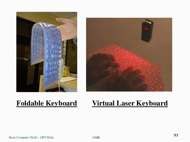 Foldable Keyboard              Virtual Laser KeyboardBasic Computer Skills - GPT Mirle   GMK                              ...