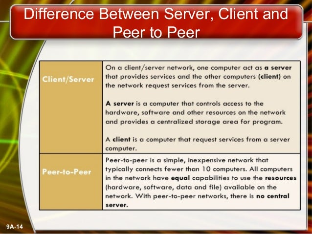 Networking in a client/server environment - Essay Example