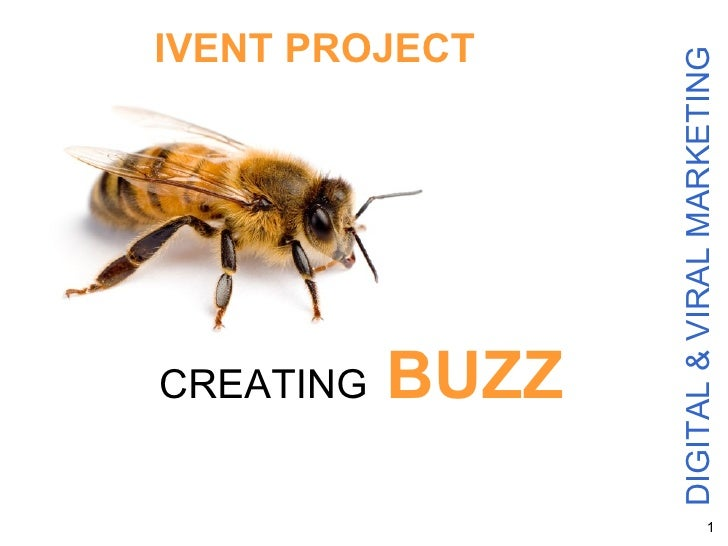 DIGITAL & VIRAL MARKETING CREATING   BUZZ IVENT PROJECT