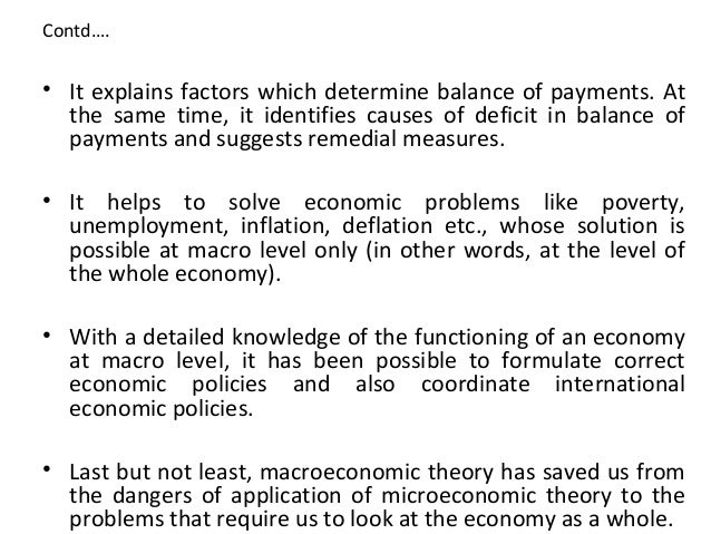 concepts in macro economic analysis What is the difference between static and dynamic concept of economics static economic analysis has nothing to do with time element in static economics, all economic variables refer to the a particular point of time.