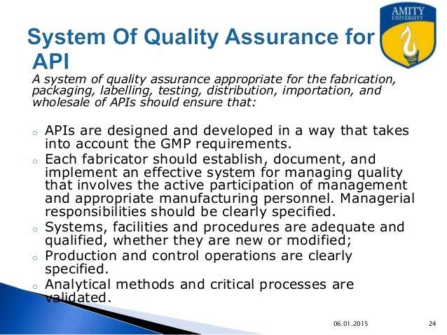 basic concepts of quality assurance management. Black Bedroom Furniture Sets. Home Design Ideas