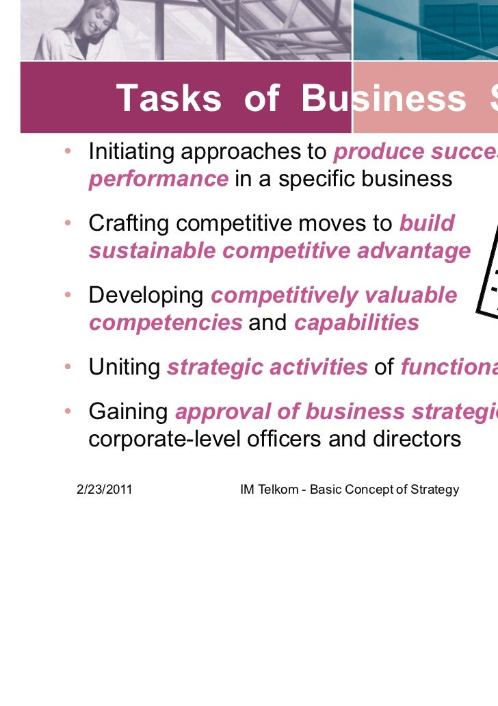 the concept of strategy and strategic Strategic market planning is a documented process of how a business can best compete in the market  what is a creative strategy's importance to marketing.