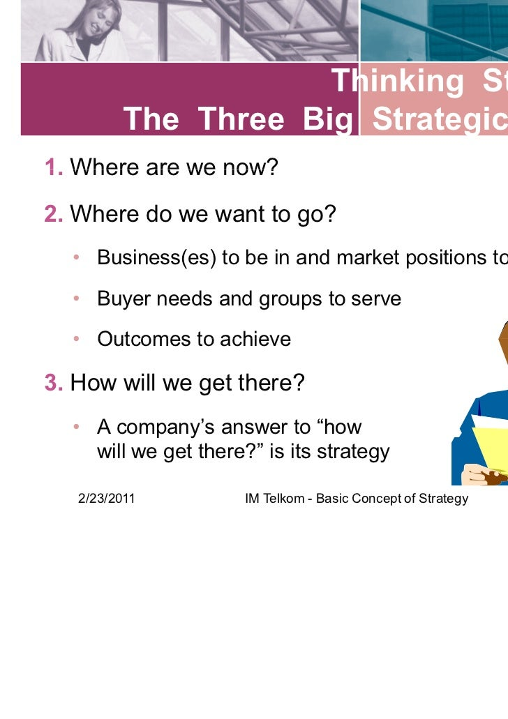 the concept of strategy and strategic Strategic planning is an organization's process of defining its strategy, or  direction, and making  the term operational budget is often used to describe  the expected financial performance of an organization for the upcoming year  capital.