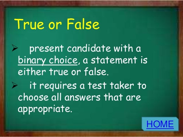 binary-choice essay multiple choice short-answer Study skills lesson 5: test taking techniques  such as multiple-choice and binary-choice test your  binary-choice short answer essay negative words.
