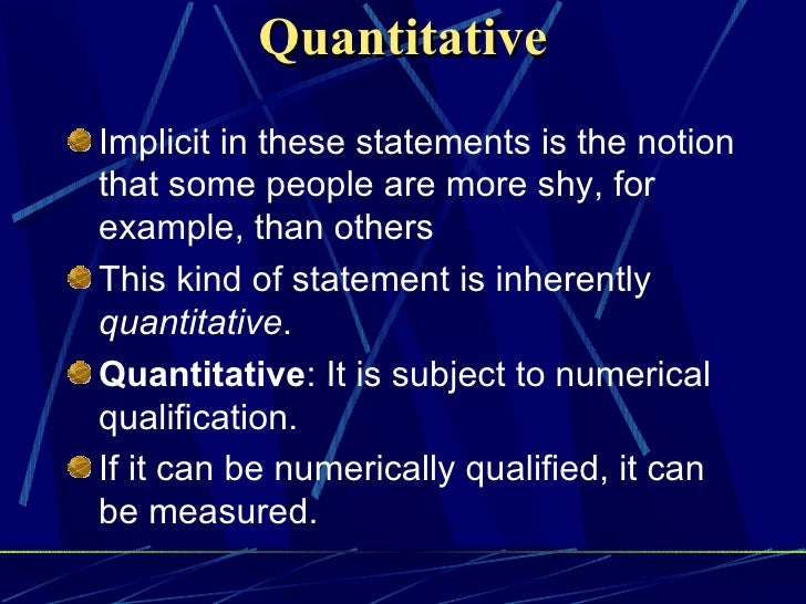 basic concepts of educational measurement and Measurement scales nominal – data are classified into exhaustive, mutually-exclusive categories, but not ordered categories nominal measurement totally lacks any sense of the relative size or magnitude, it only allows to say that things are different.