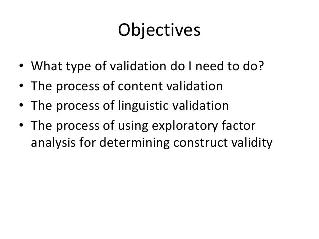an analysis of the topic of the validation Vee courses and educational experiences the following guidelines for the three validation by educational experience (vee) requirements all of the topics listed below should be covered: regression analysis.