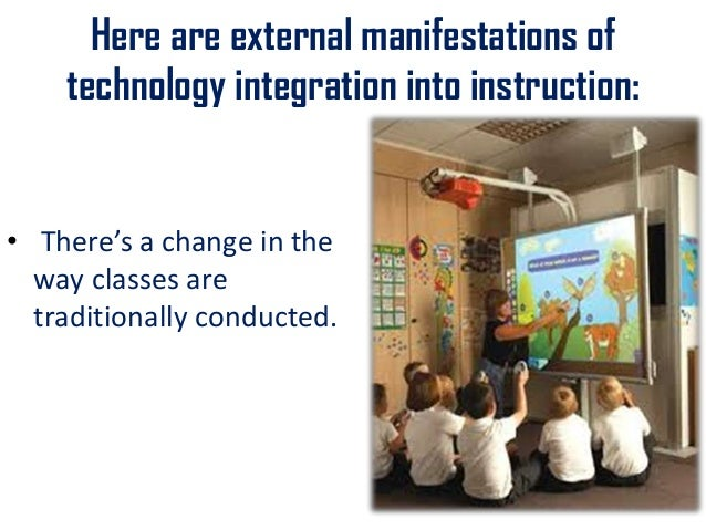Basic Concepts On Integrating Technology In Instruction