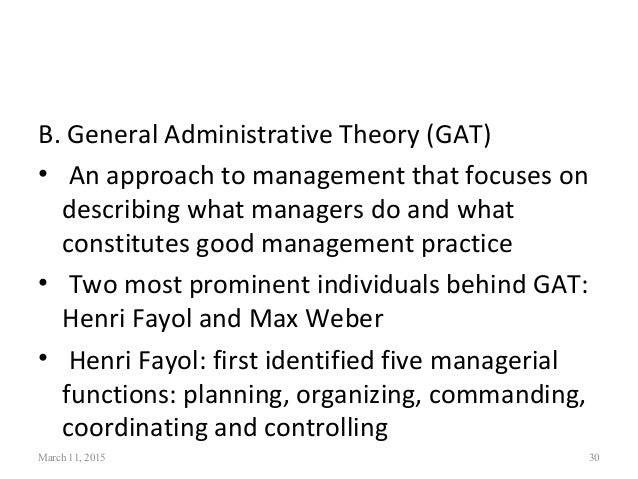 relevance of fayol s functions of management What is organizing function of management barriers and it's importance to an f w taylor's principles of scientific management henri fayol's 14.