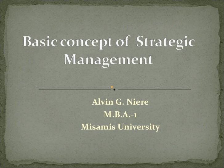 Alvin G. Niere M.B.A.-1 Misamis University