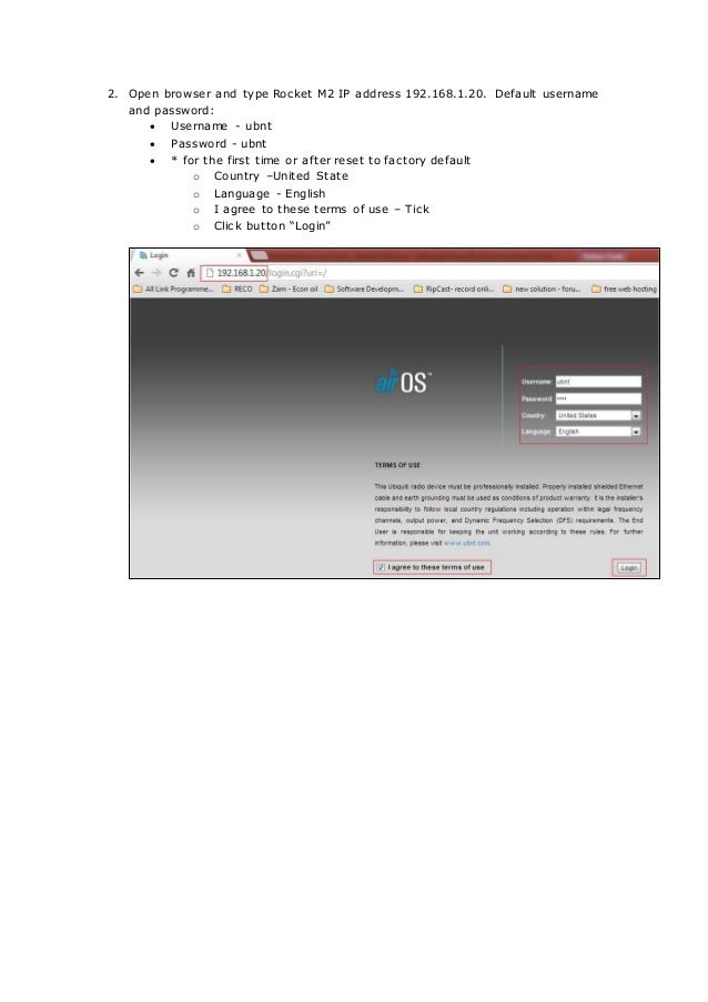 Basic configuration access point (1)