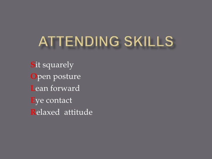 Sit squarelyOpen postureLean forwardEye contactRelaxed attitude