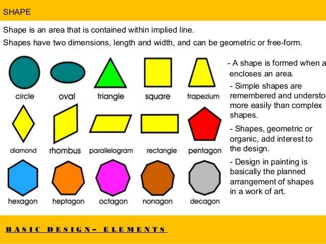 Basic Elements Design : Basic design elements principles