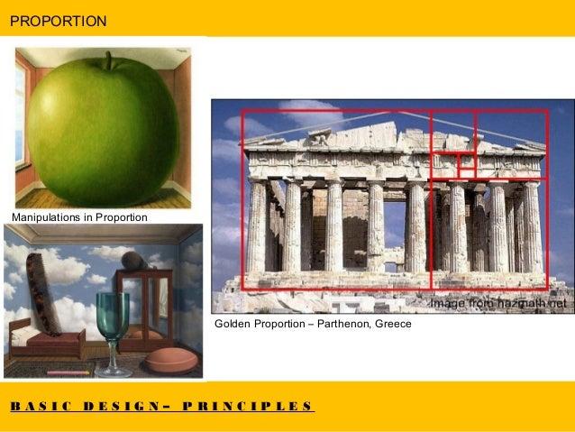 Architecture Design Elements basic design : elements & principles
