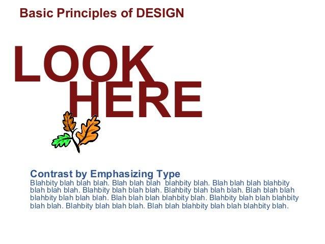 Different Principles Of Design : Ppt pitch basic design principles