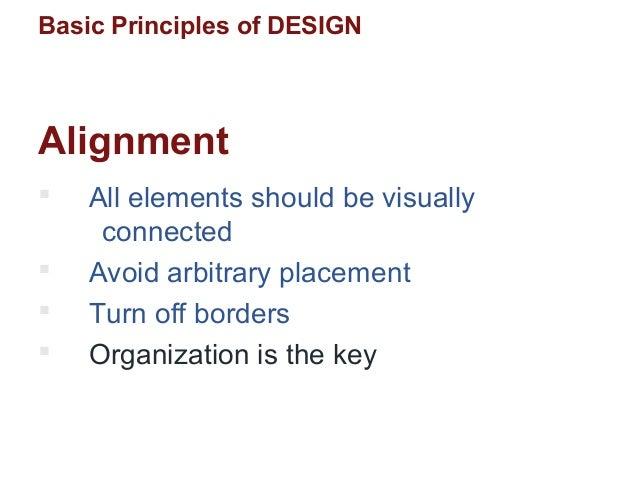 ppt pitch basic design principles