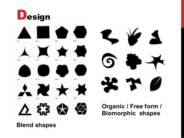 Basic Elements Of Visual Arts : D organic shapes bing images