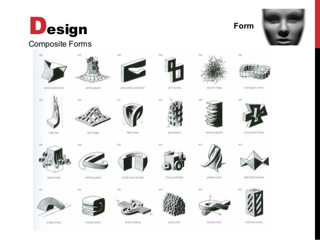 Basic design visual arts elements of design for Types of architecture design