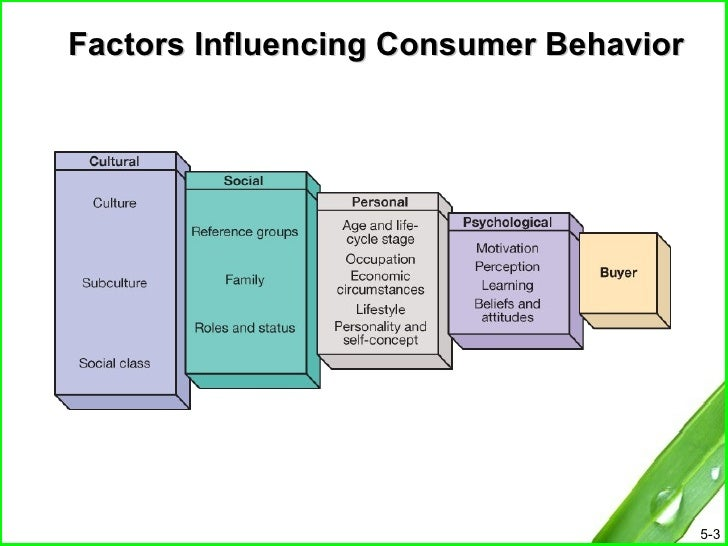 factors influencing consumer purchase behavior Learn more about the external factors that influence a consumers online behaviour and sales at the mporium blog the implication of consumer buying behaviour for merchants is that different buying situations require different marketing efforts.