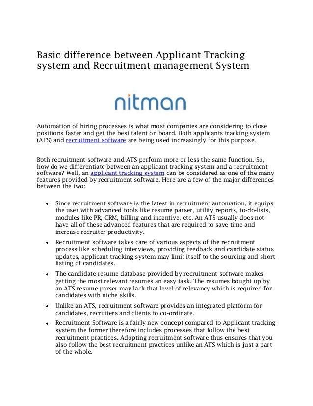 candidate resume database