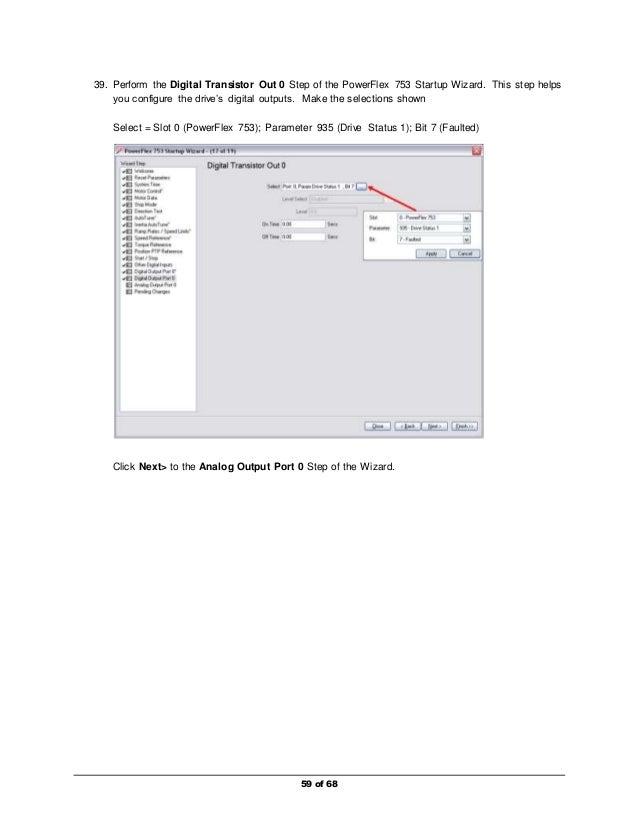 Basic drive programing pf753