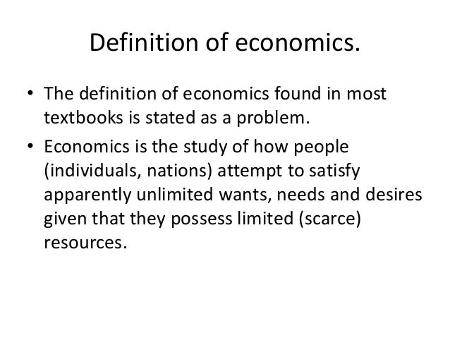 basic economic concepts Do you want to become a better consumer sarah smith will explain how studying economics will make you a better consumer in this guest post.