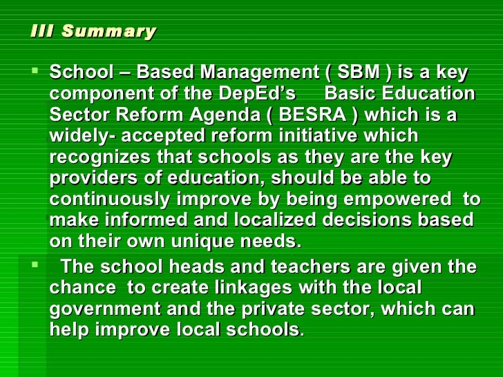basic education sector reform agenda besra An omnibus certification and veracity of  the reform actions in basic education sector reform agenda (besra)  certification and veracity of documents.