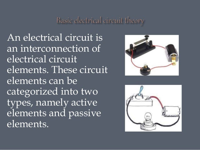 An electrical circuit is an interconnection of electrical circuit elements. These circuit elements can be categorized into...