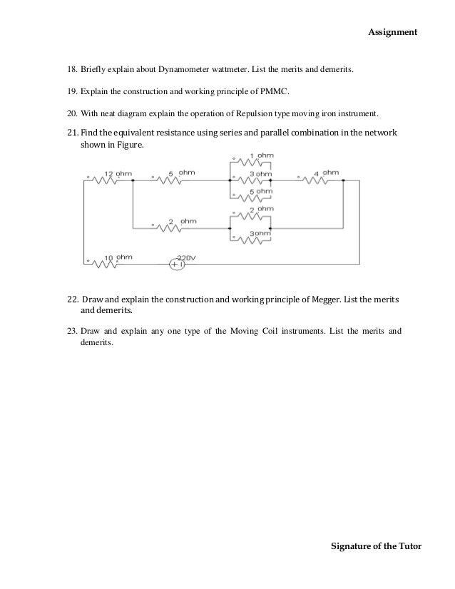 Dynamometer Wattmeter