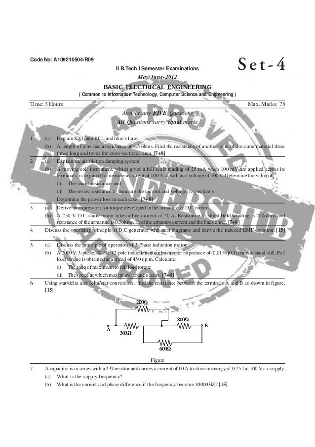 Basic electrical engineering1