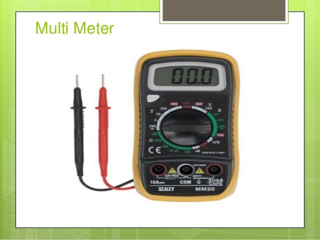 Electrical Measuring Instruments : Basic electrical measuring instruments